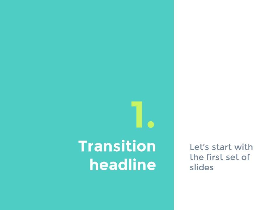 蓝绿主色简洁欧美清新商务风幻灯片模板下载_预览图4