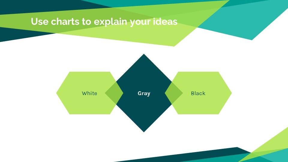 蓝绿色简约商务专用幻灯片模板_预览图12