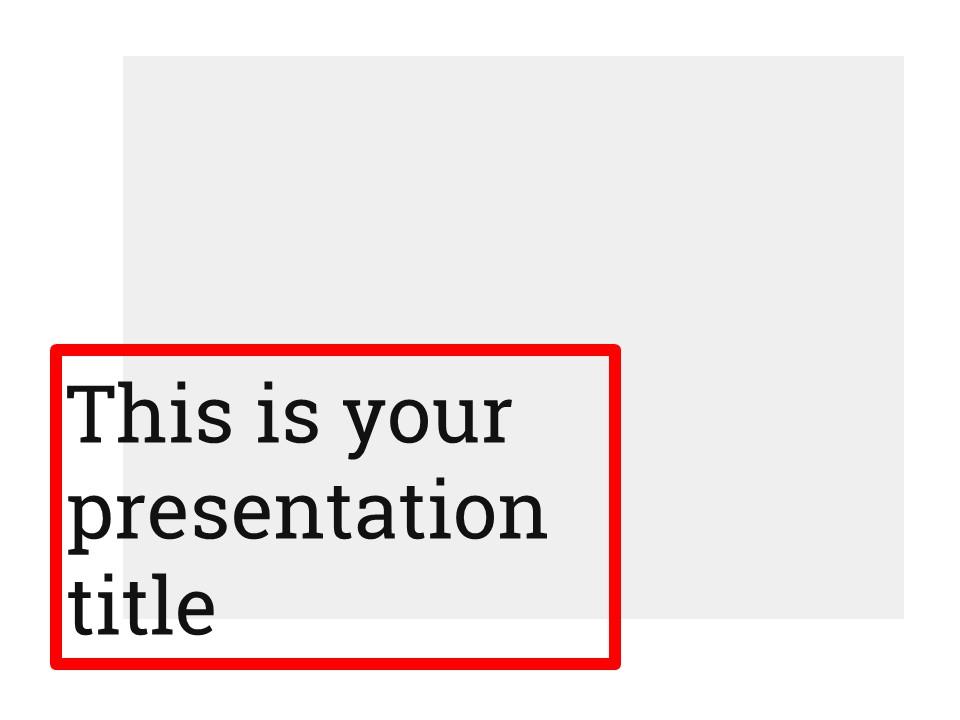 灰红色简约清新个人汇报专用PPT模板_预览图1