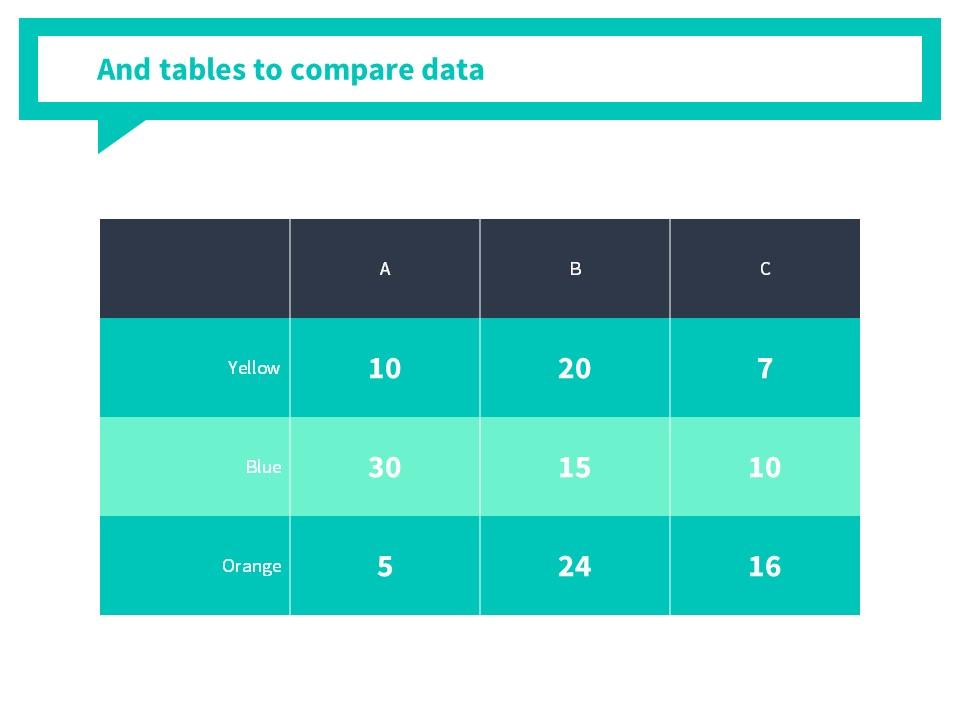糖果色简洁气泡对话框背景PPT模板_预览图13