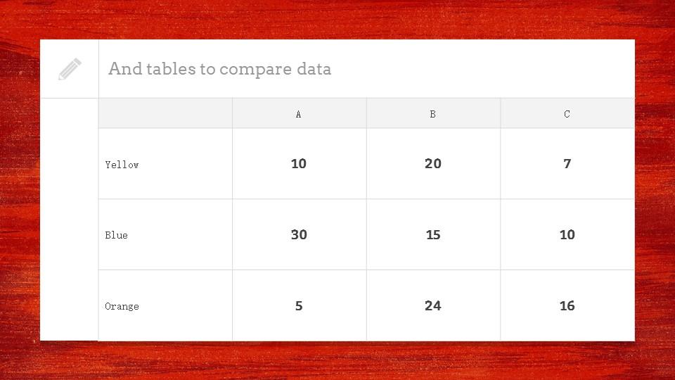 红色木地板背景PPT模板下载_预览图13