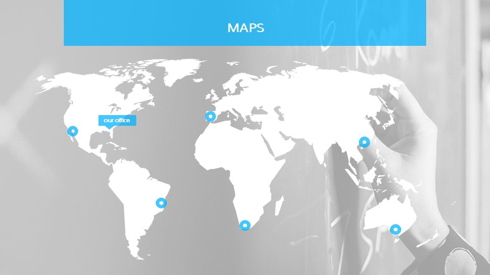教学用蓝色灰背景课件PPT模板下载_预览图15