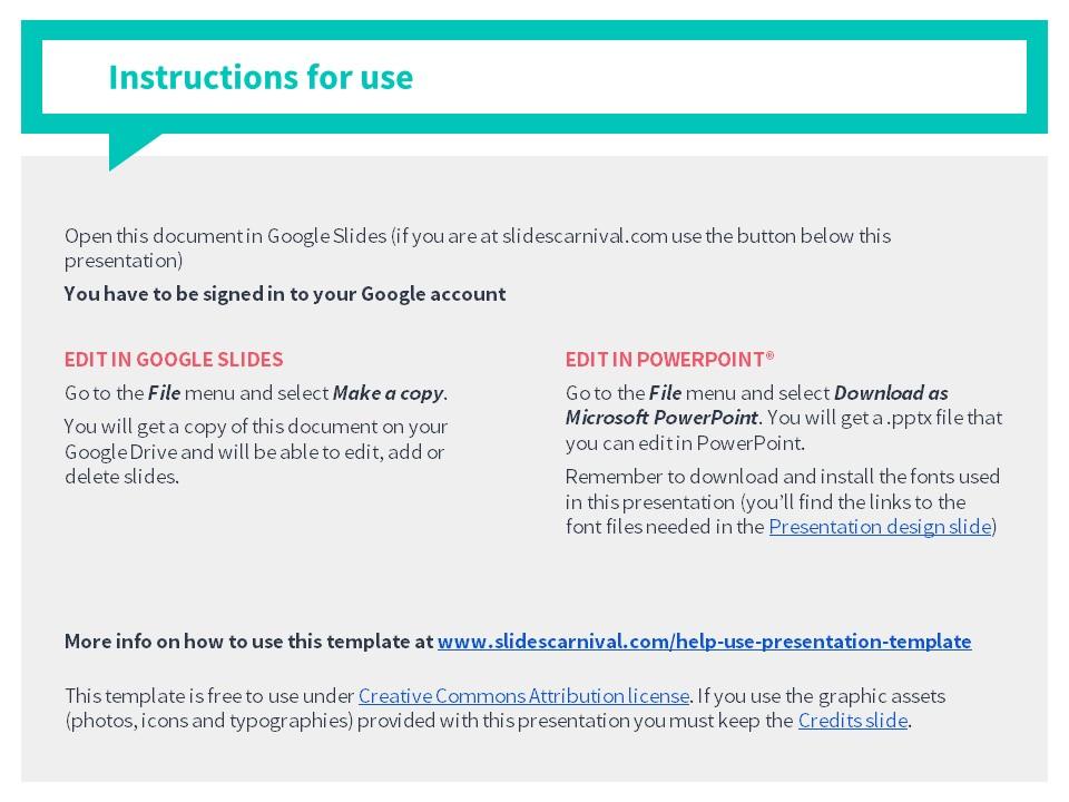 糖果色简洁气泡对话框背景PPT模板_预览图2