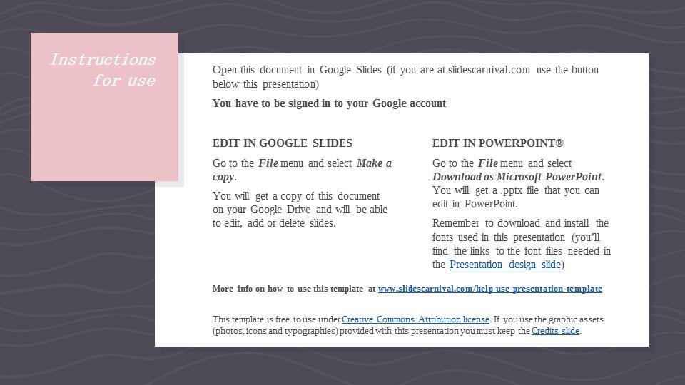 可爱粉色系粉红灰线条背景商务/个人总结汇报PPT模板下载_预览图2