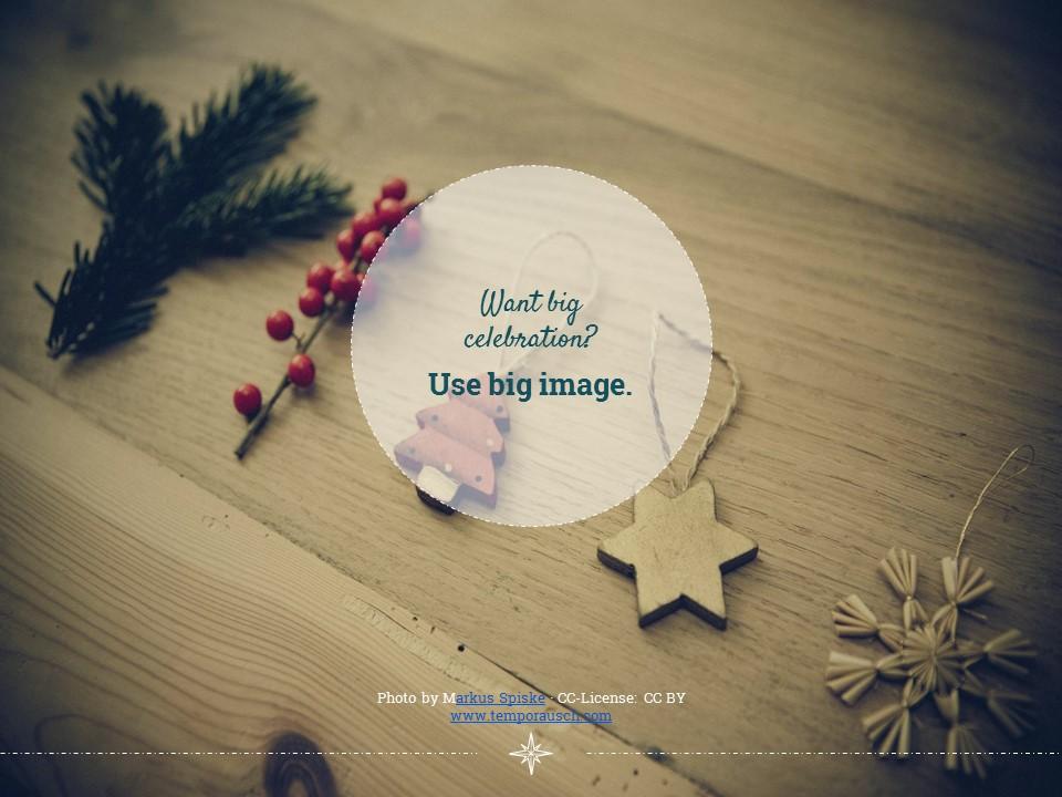 圣诞节卡通线条画红蓝交替背景幻灯片模板下载_预览图10