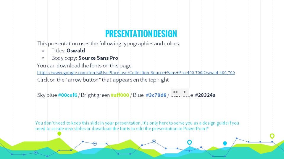 黄绿色数据分析商务专用幻灯片PPT模板_预览图27