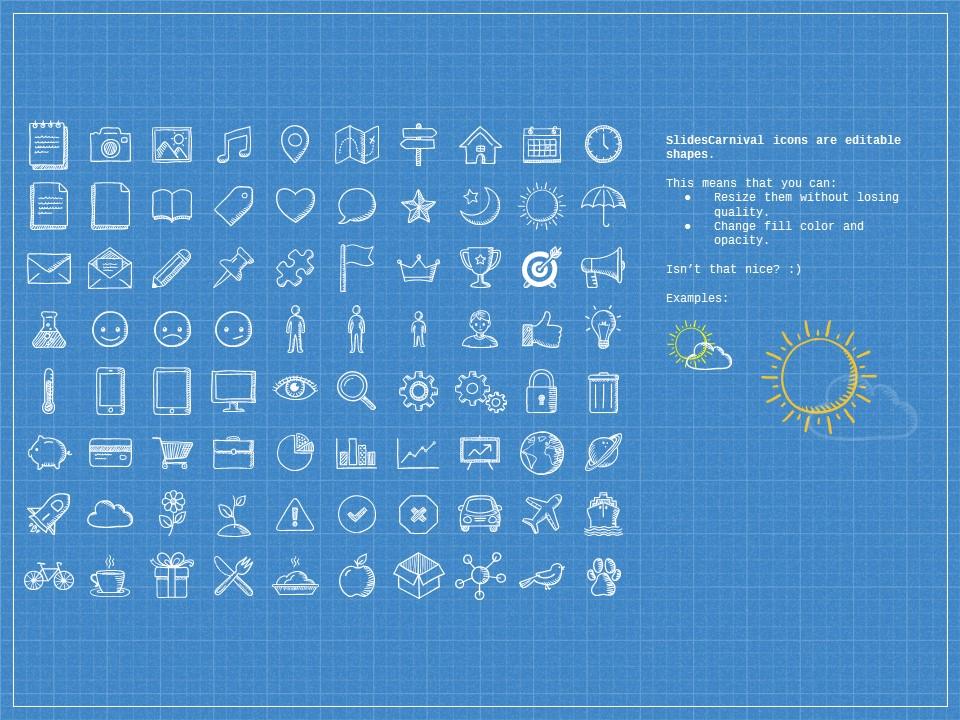 蓝色网格科技互联网风格PPT模板下载_预览图27