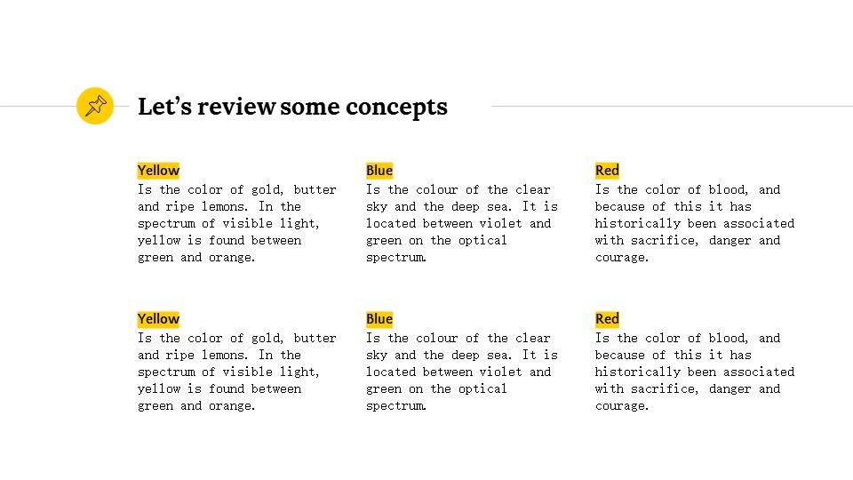 黄色简约实用介绍/汇报PPT模板_预览图19