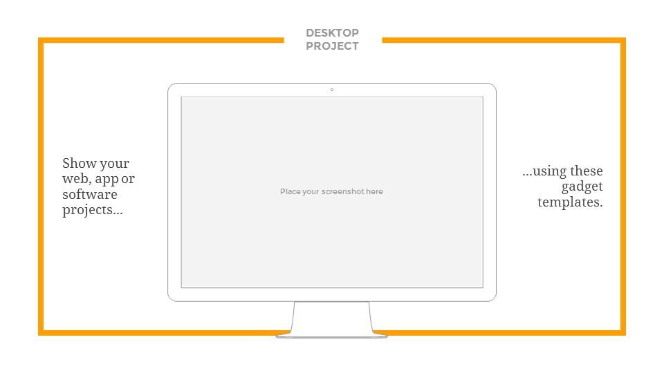 黄色系清新淡雅简约线条PPT模板下载_预览图23