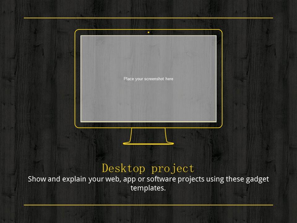 木地板背景风格互联网产品介绍Powerpoint模板下载_预览图23