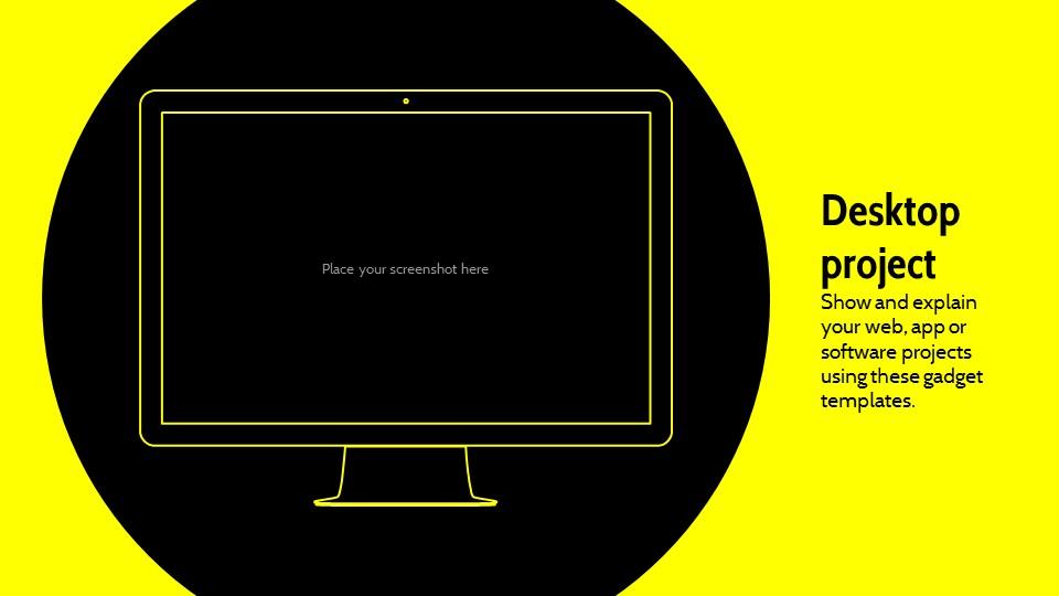 黑黄配色强烈冲击的PPT模板下载_预览图23