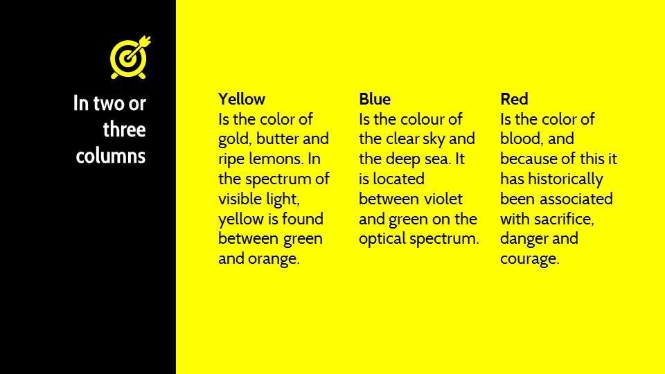 黑黄配色强烈冲击的PPT模板下载_预览图9