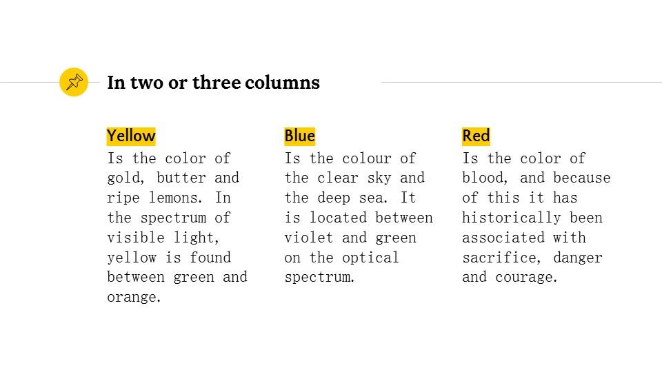 黄色简约实用介绍/汇报PPT模板_预览图9