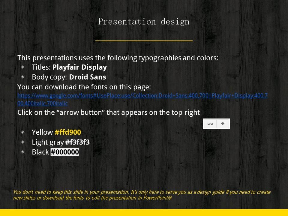 木地板背景风格互联网产品介绍Powerpoint模板下载_预览图26