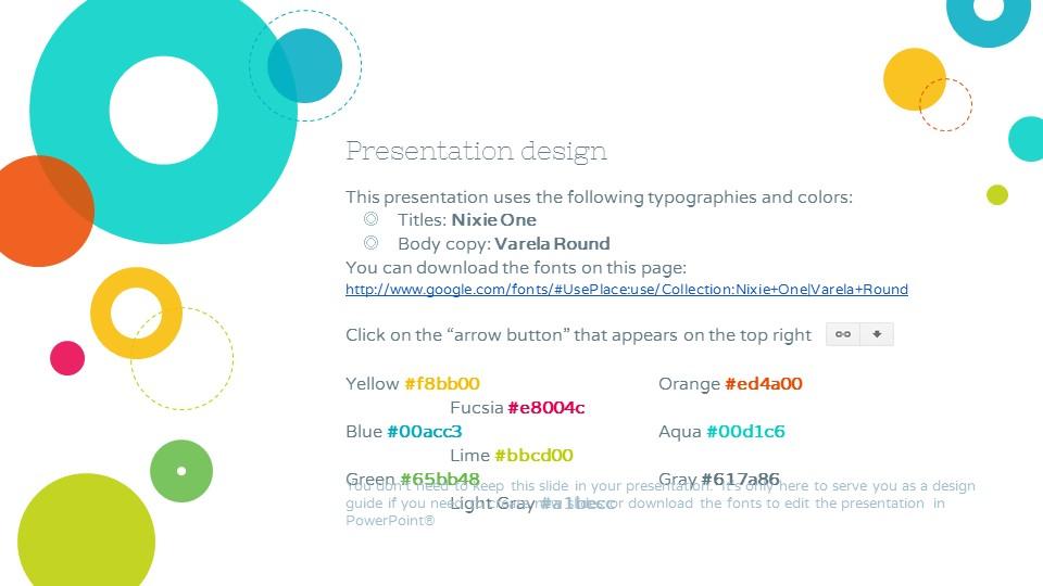 彩色泡泡可爱风格个人简历汇报PPT模板下载_预览图26