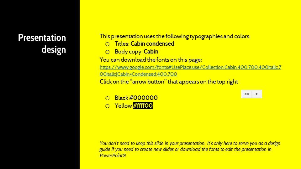 黑黄配色强烈冲击的PPT模板下载_预览图26
