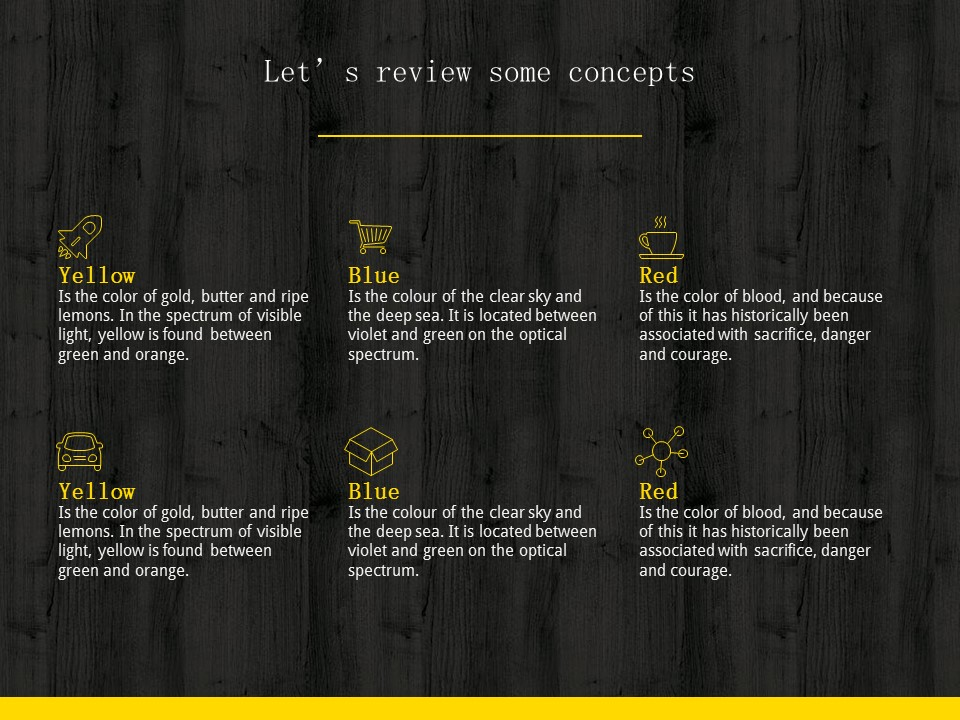 木地板背景风格互联网产品介绍Powerpoint模板下载_预览图18