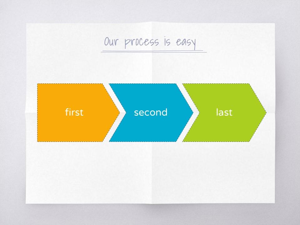 淡雅纸张风格彩色简约商务PPT模板下载_预览图18