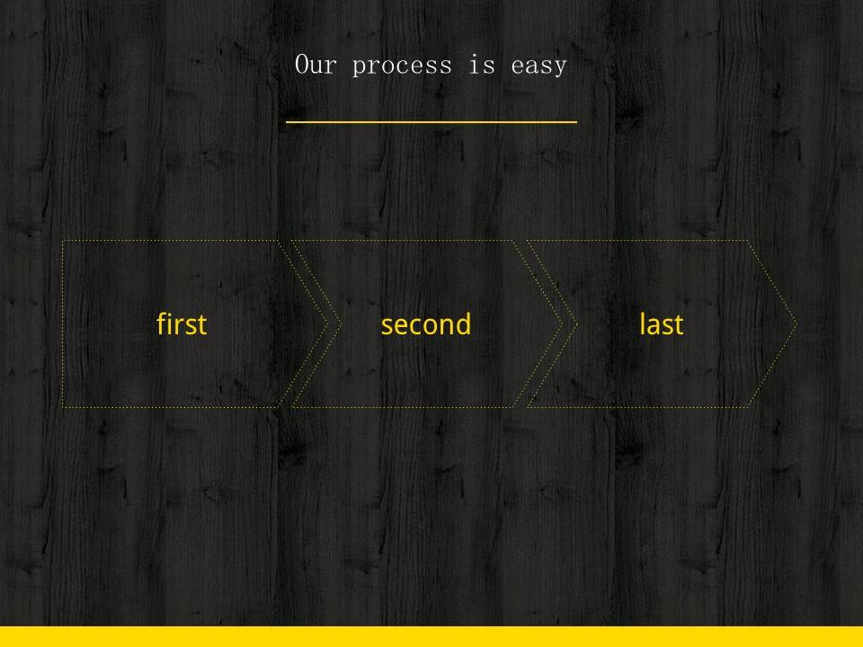 木地板背景风格互联网产品介绍Powerpoint模板下载_预览图17