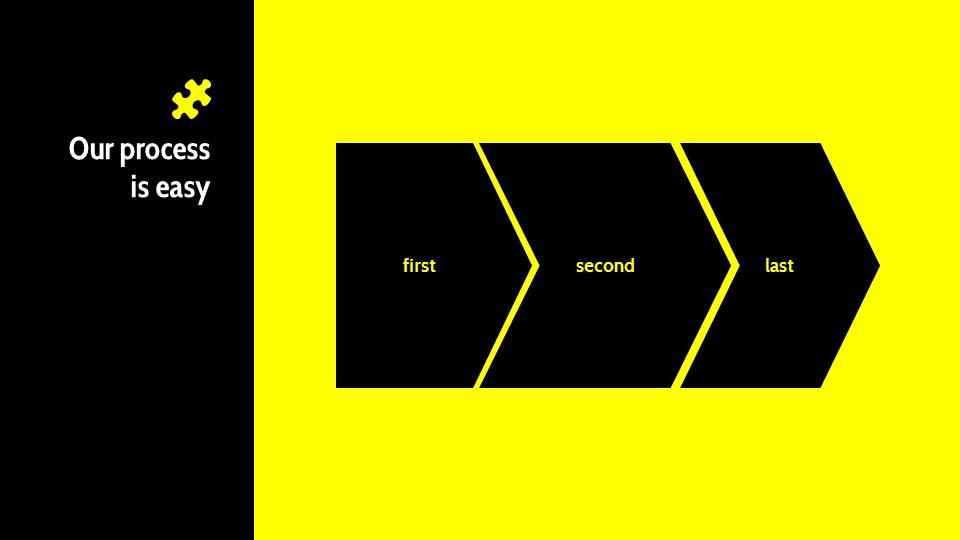 黑黄配色强烈冲击的PPT模板下载_预览图17