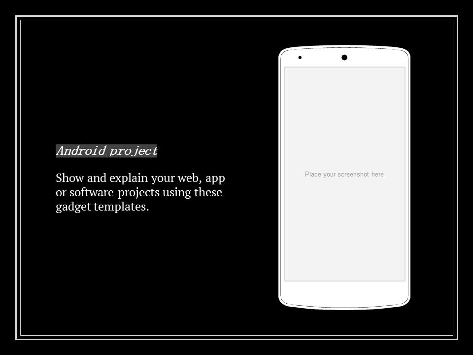 简单黑白叙事幻灯片模板下载_预览图20