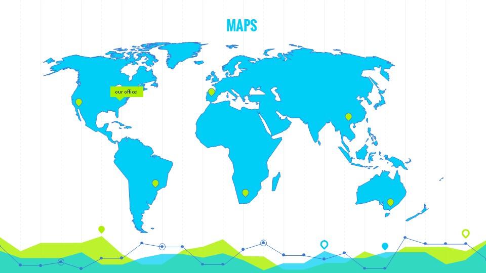 黄绿色数据分析商务专用幻灯片PPT模板_预览图15