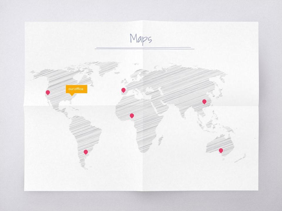 淡雅纸张风格彩色简约商务PPT模板下载_预览图15