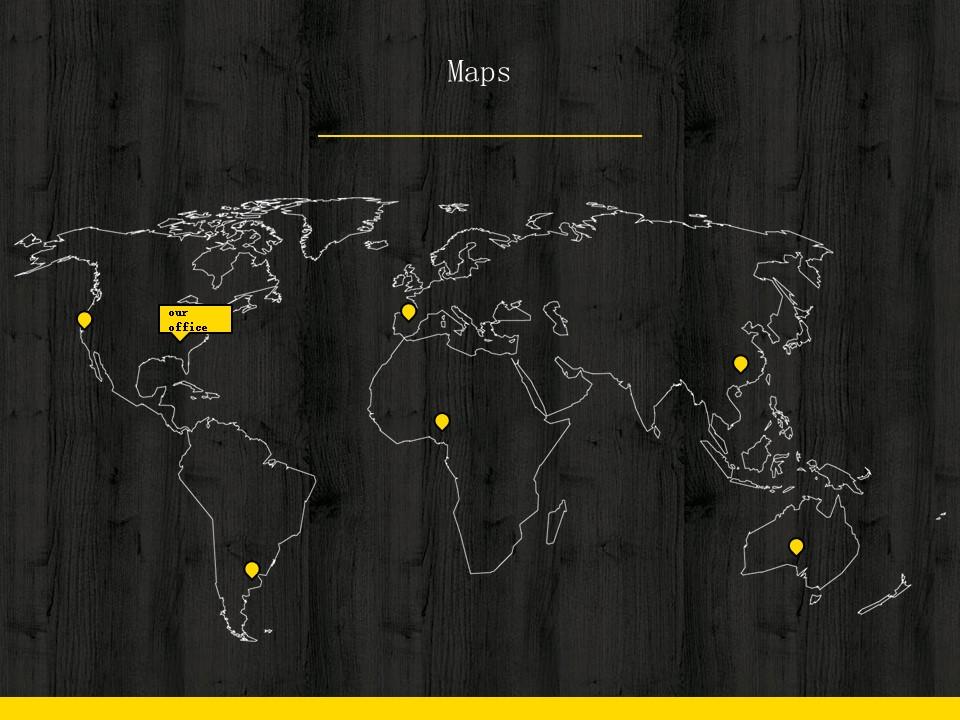 木地板背景风格互联网产品介绍Powerpoint模板下载_预览图14
