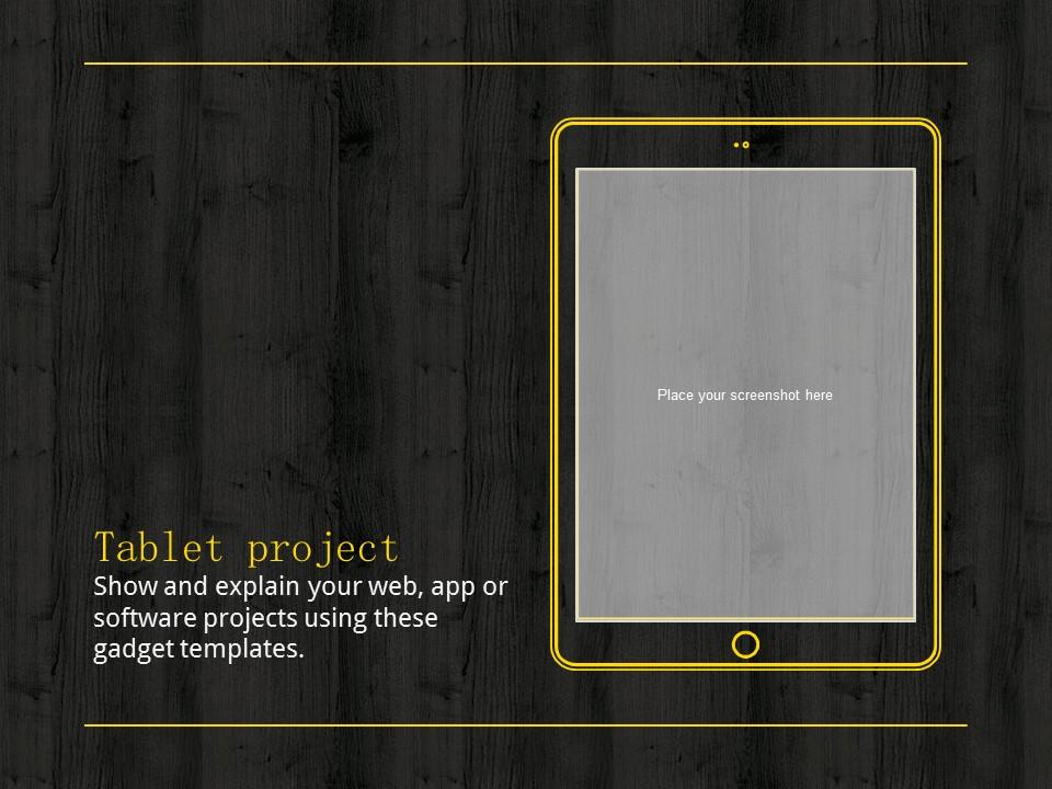 木地板背景风格互联网产品介绍Powerpoint模板下载_预览图22