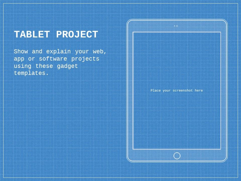 蓝色网格科技互联网风格PPT模板下载_预览图22