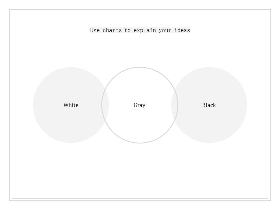 简单黑白叙事幻灯片模板下载_预览图12