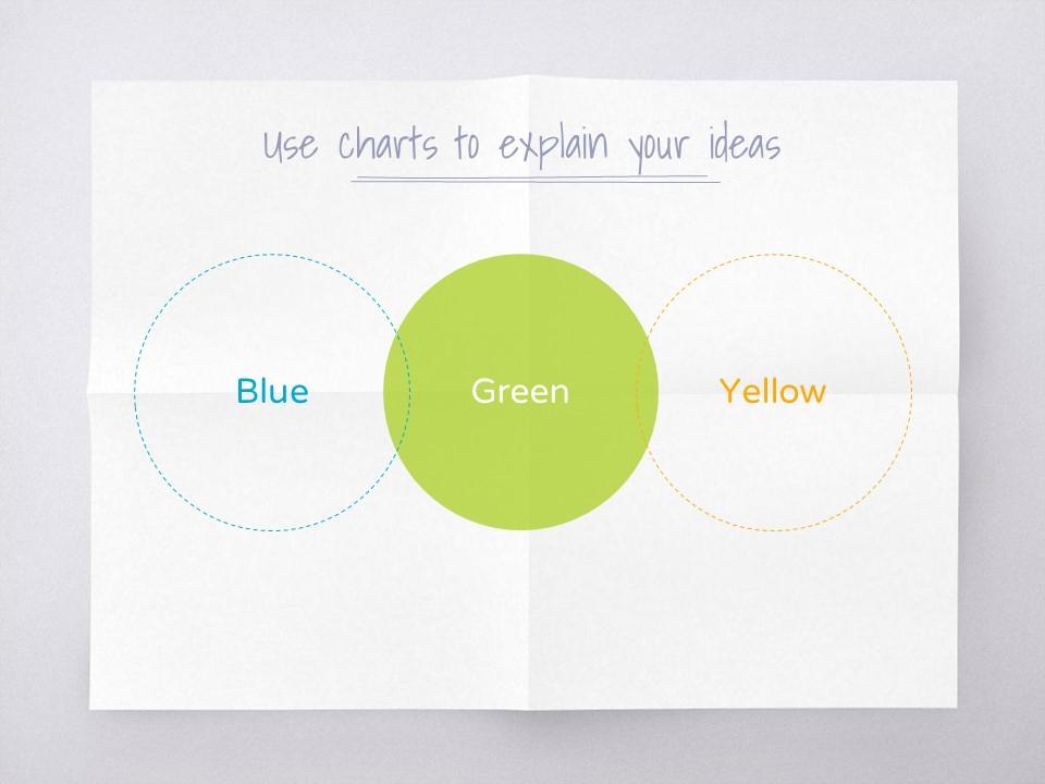 淡雅纸张风格彩色简约商务PPT模板下载_预览图12
