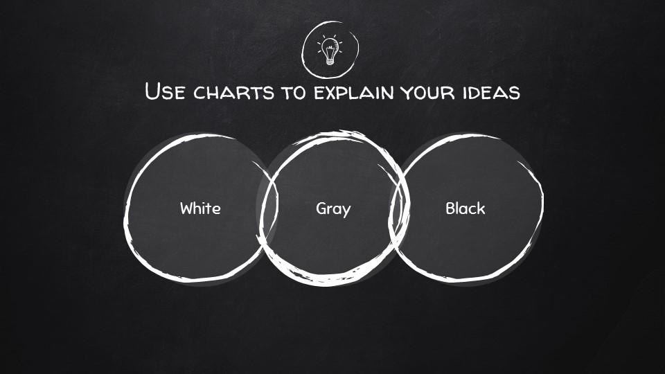 黑板可爱写意手写铅笔字/粉笔字风格PPT模板下载_预览图12