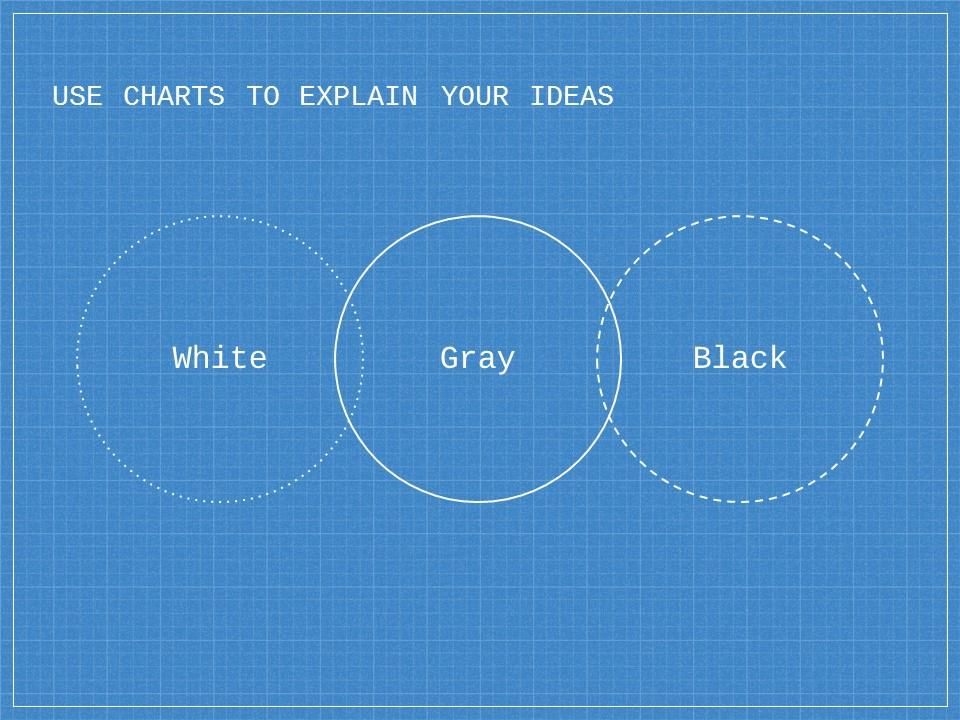 蓝色网格科技互联网风格PPT模板下载_预览图12
