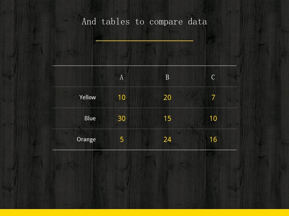 木地板背景风格互联网产品介绍Powerpoint模板下载_预览图13