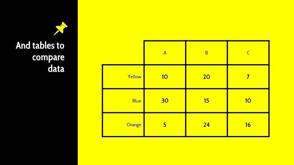黑黄配色强烈冲击的PPT模板下载_预览图13