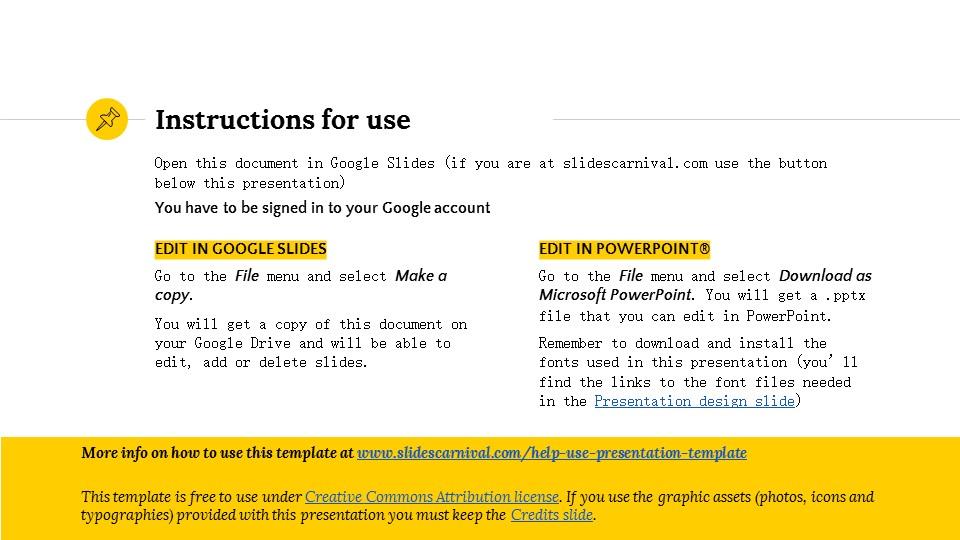 黄色简约实用介绍/汇报PPT模板_预览图2
