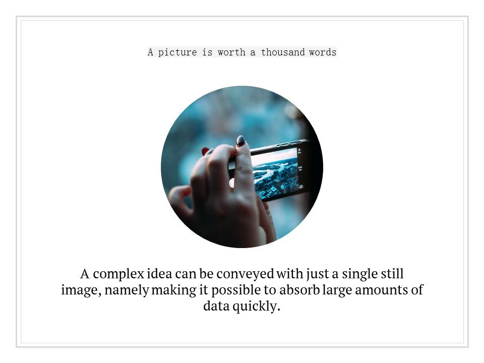 简单黑白叙事幻灯片模板下载_预览图10