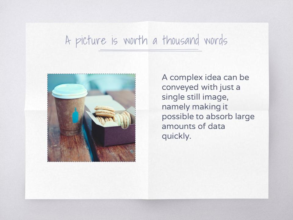 淡雅纸张风格彩色简约商务PPT模板下载_预览图10