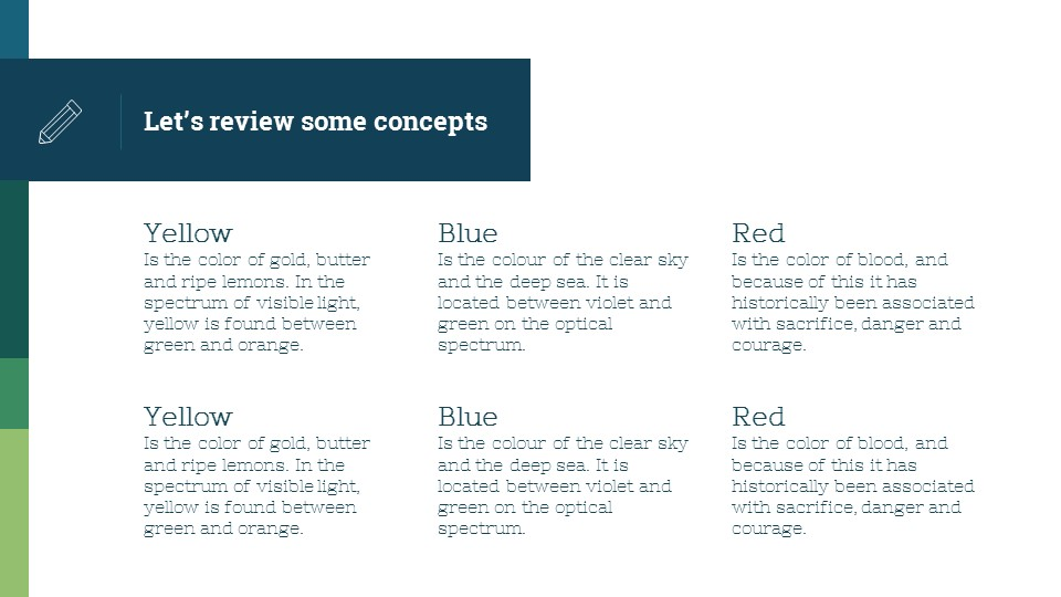 蓝绿简洁欧美超商务PPT模板_预览图19