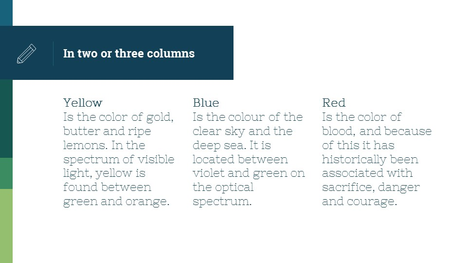 蓝绿简洁欧美超商务PPT模板_预览图9