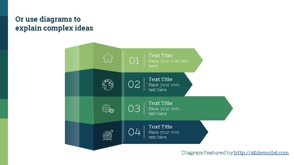 蓝绿简洁欧美超商务PPT模板_预览图13
