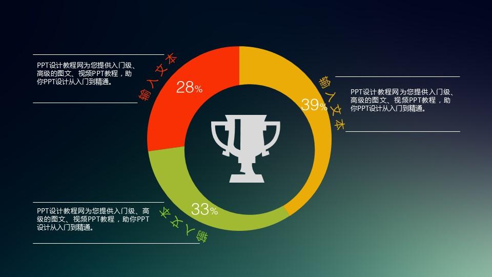获得成就的3部分组成分析PPT素材_预览图1
