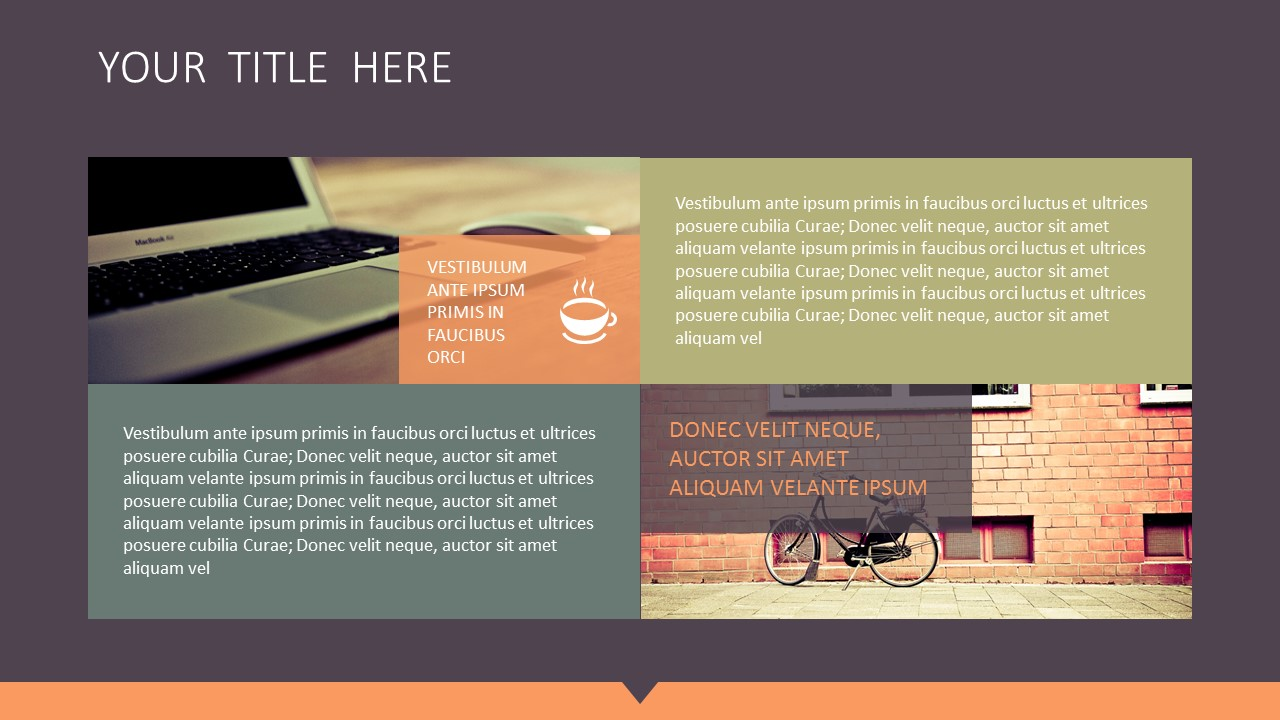橙色拼图风格商务PPT模板下载_预览图4