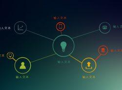 点与点相连的虚拟网络结构PPT