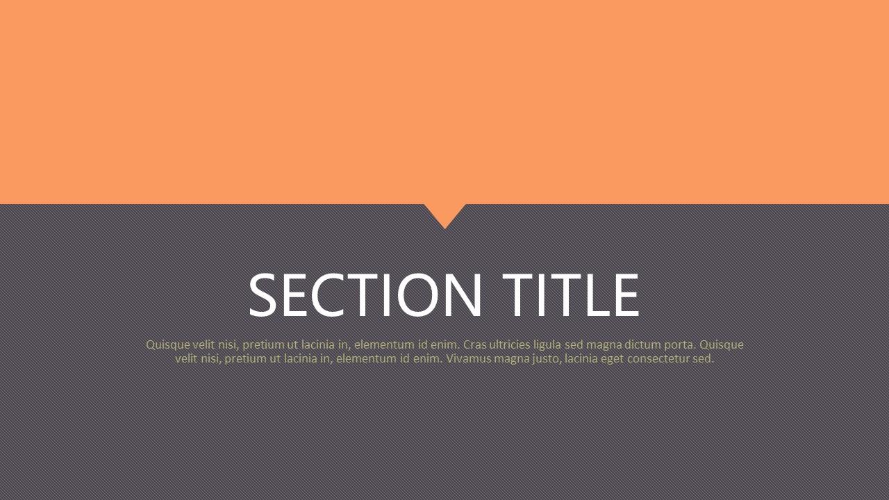 橙色拼图风格商务PPT模板下载_预览图2