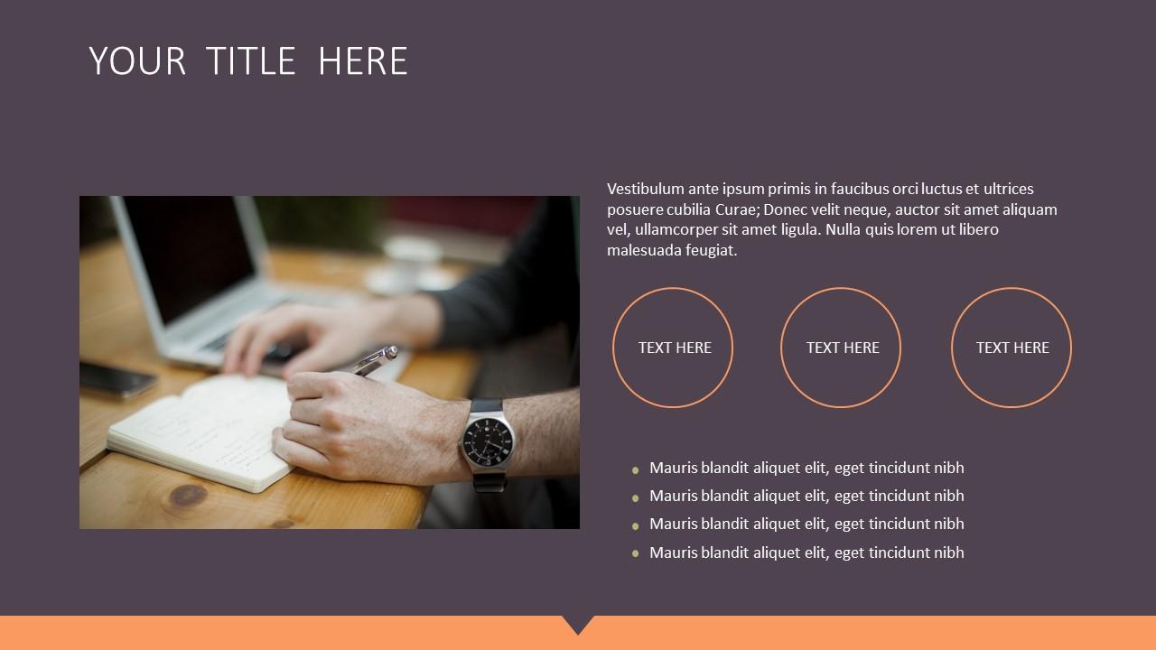 橙色拼图风格商务PPT模板下载_预览图5