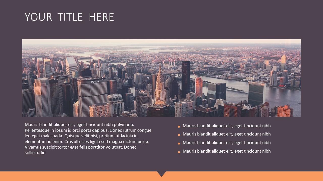 橙色拼图风格商务PPT模板下载_预览图3