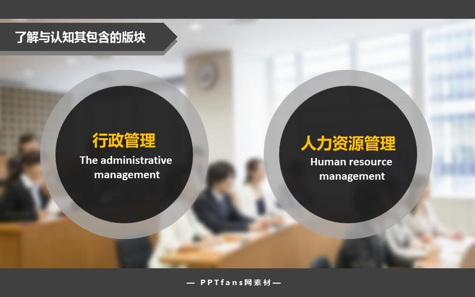 做一名合格的企业人事管理者PowerPoint模板下载_预览图3