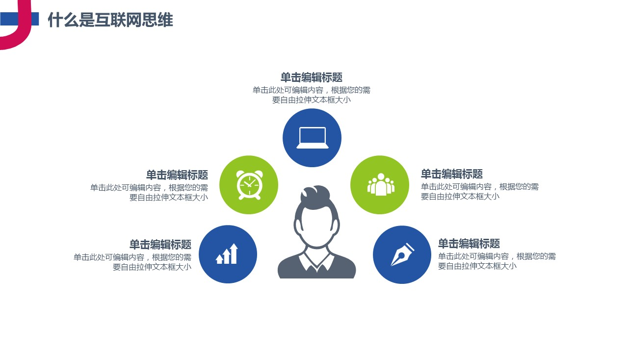互联网思维主题PowerPoint模板下载_预览图6